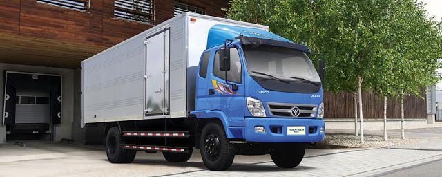 Hình ảnh xe tải Ollin 900A 9 tấn