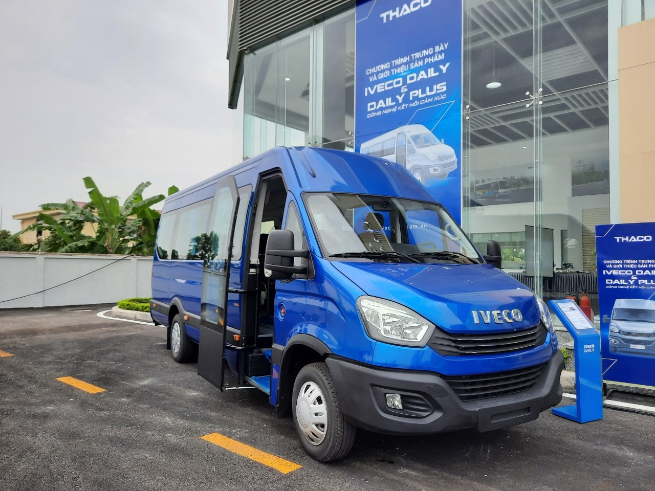 Thaco Iveco Daily Plus 19 chỗ Hải Phòng