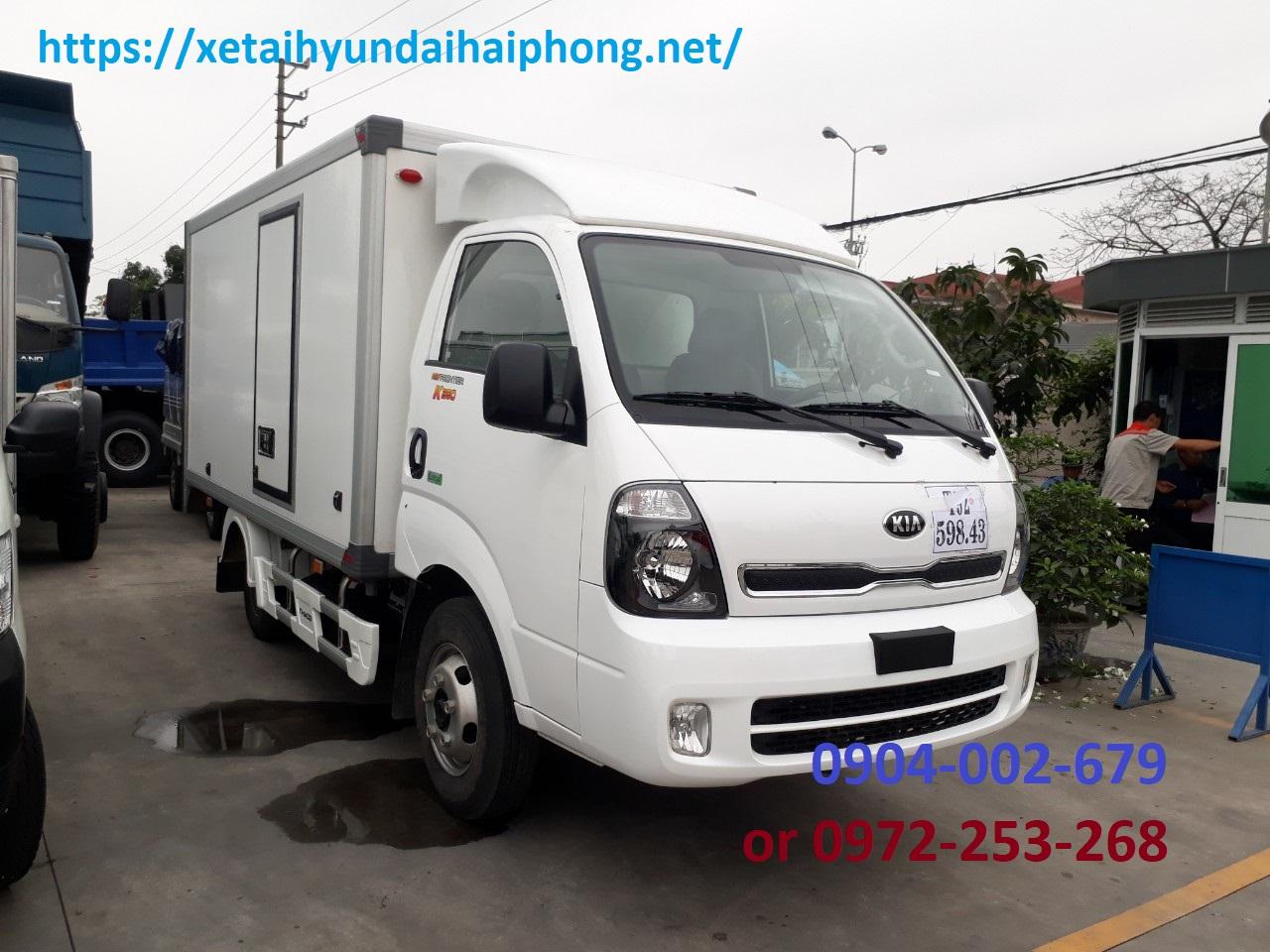 Xe tải thùng kín bảo ôn Kia K250