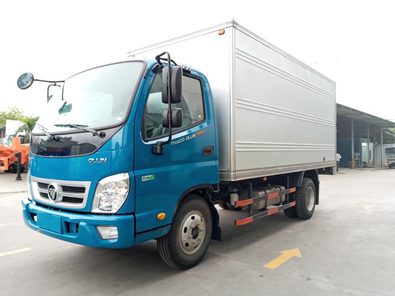 xe tải 3.5 tấn tại hải phòng Thaco Ollin 350
