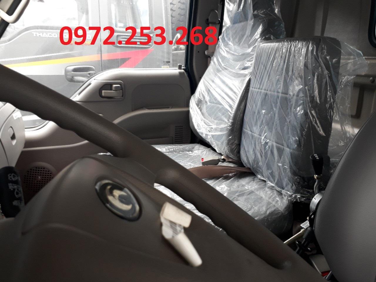 xe ben thaco 8,7 tấn hải phòng