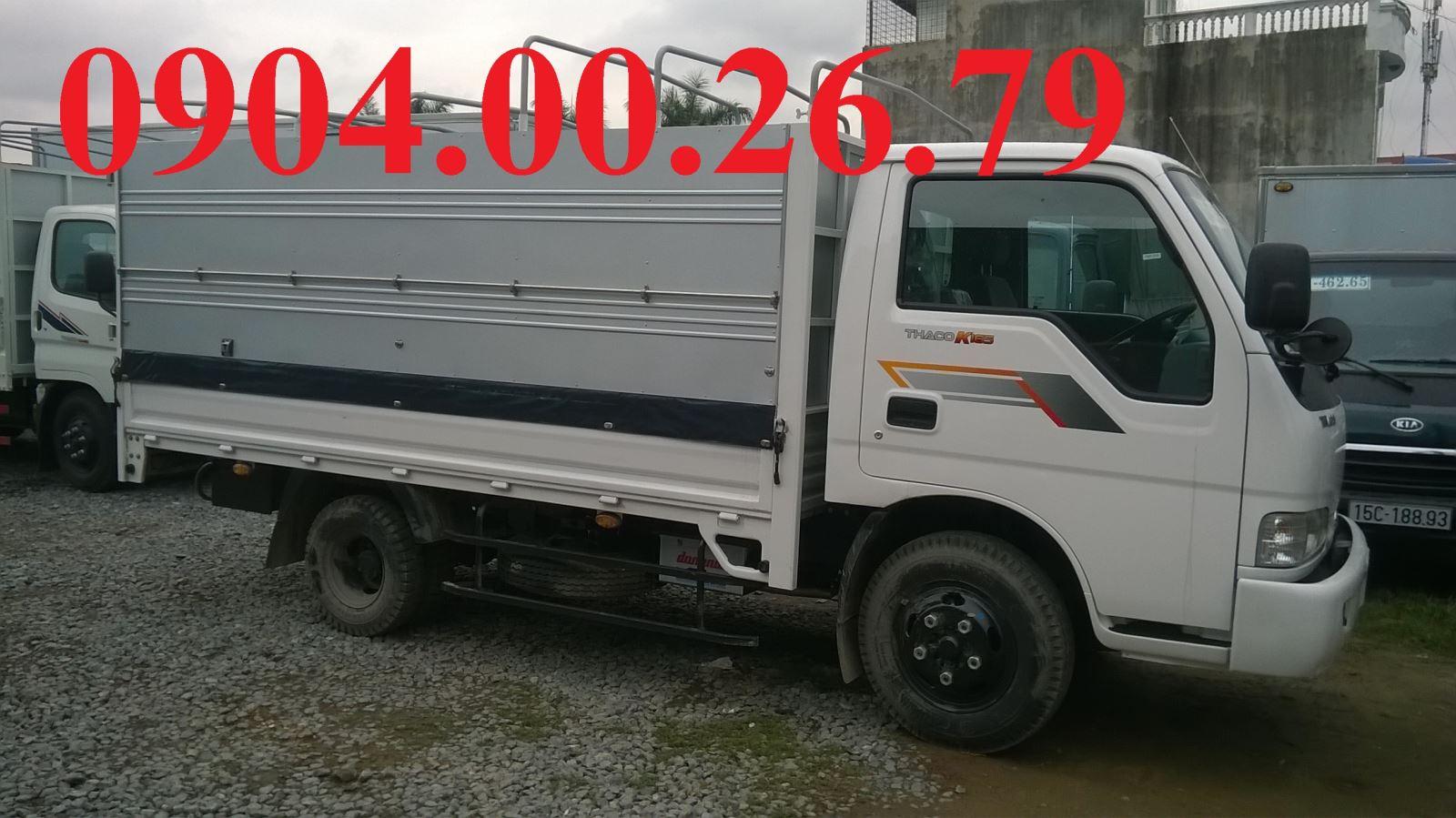 Hình ảnh xe tải kia 2,4 tấn hải phòng