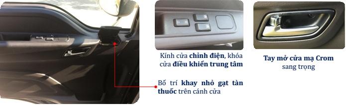 chỉnh kính xe ben Thaco Auman D240