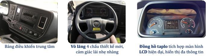 Nội Thất Thaco Auman D240