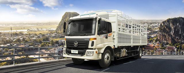 Hình ảnh xe tải 9 tấn auman c160 hải phòng
